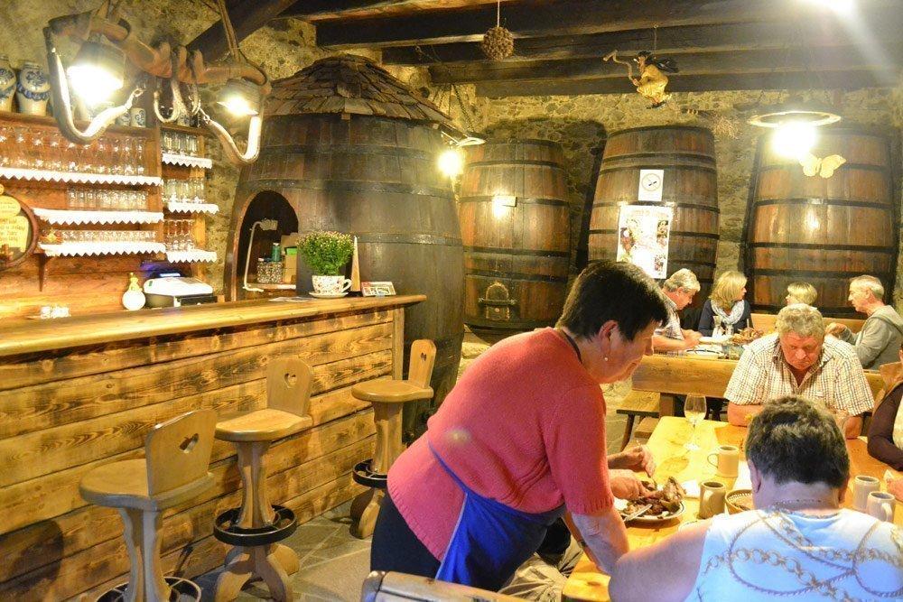 Taverna Ausserhof - Törggelen a Merano e Dintorni