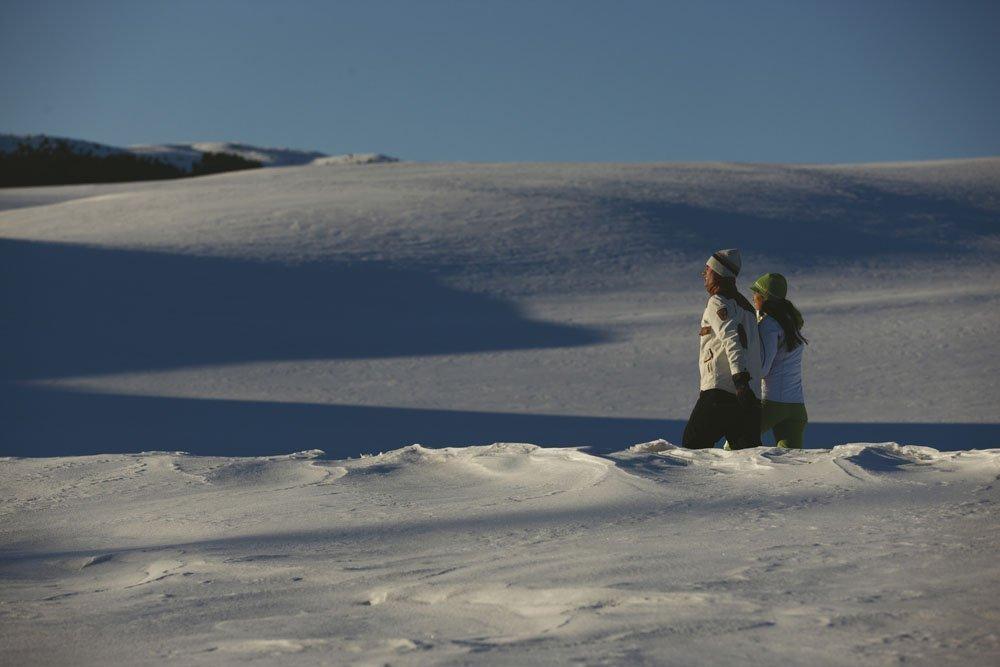Attività invernali lontano dalle piste da sci