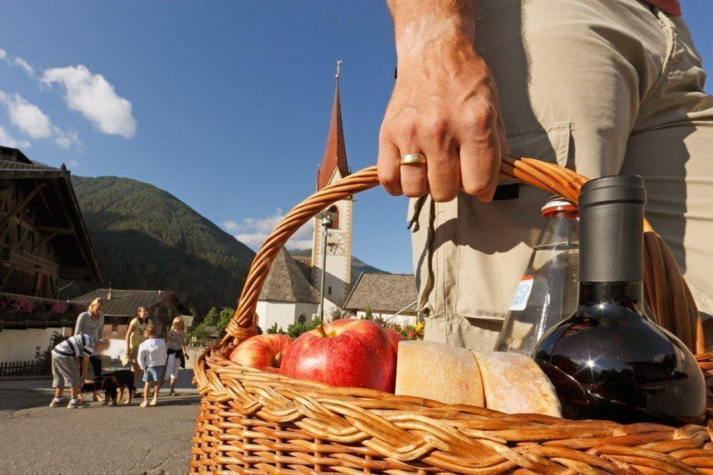 Idillio rurale nel villaggio del vino San Pancrazio